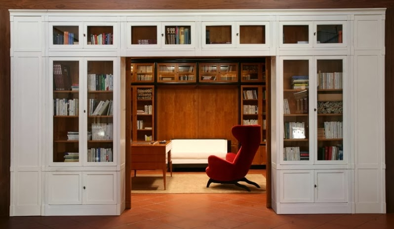 Luxury goes living your solution the bookcase for Mobile libreria