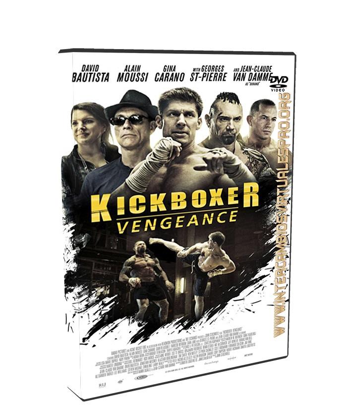 Kickboxer La Venganza poster box cover
