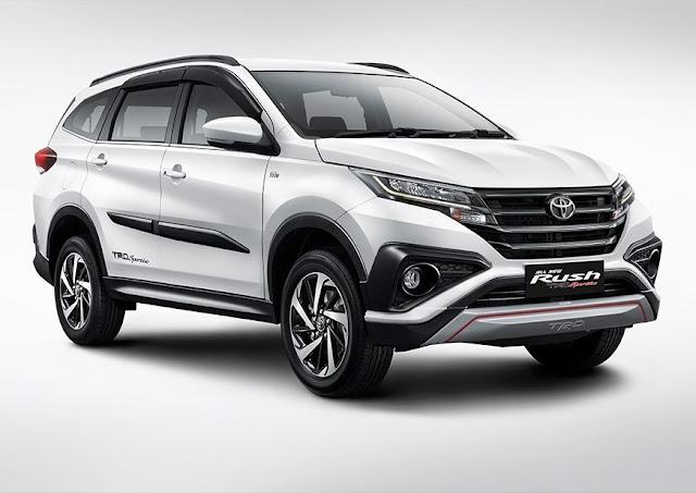 Toyota New RUSH 2018