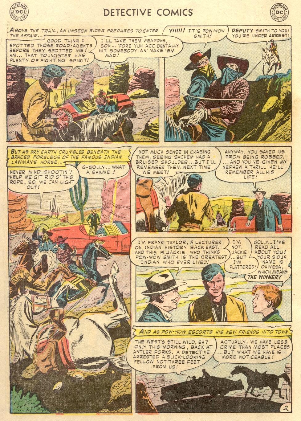 Read online Detective Comics (1937) comic -  Issue #186 - 36