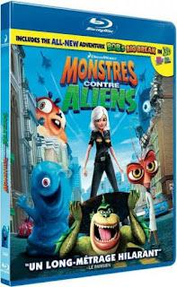 Monsters Vs Aliens (2009) Hindi Dual Audio Movie 125Mb hevc BRRip