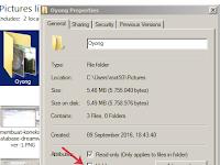 Cara Hidden Folder di Windows Yang Lebih Efektif