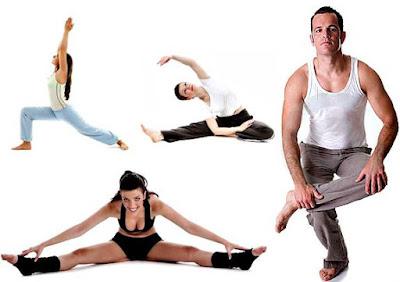 estirar los músculos después de hacer ejercicio