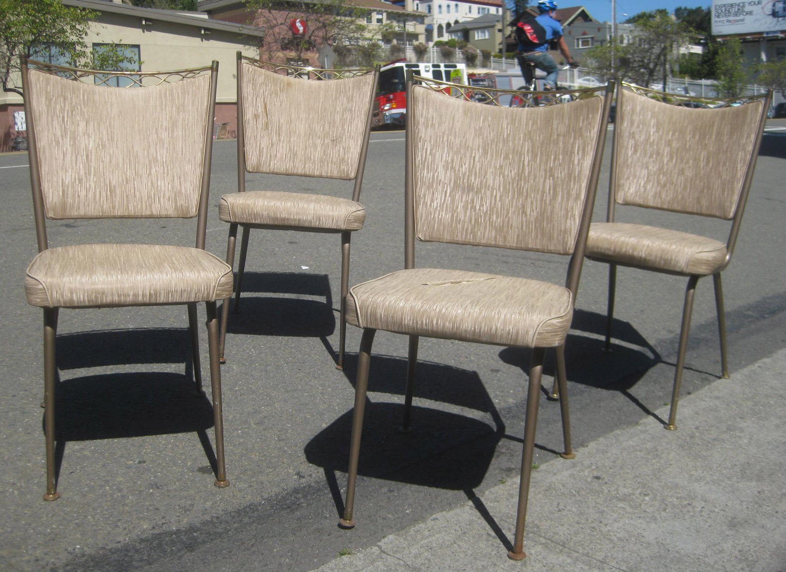 Retro Kitchen Chairs Uhuru Furniture And Collectibles Sold 4 Retro Kitchen