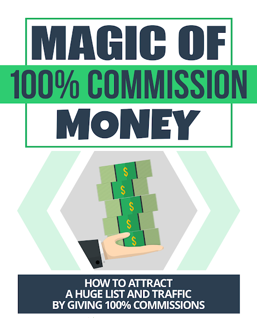 how to attract huge traffic by giving 100% commission