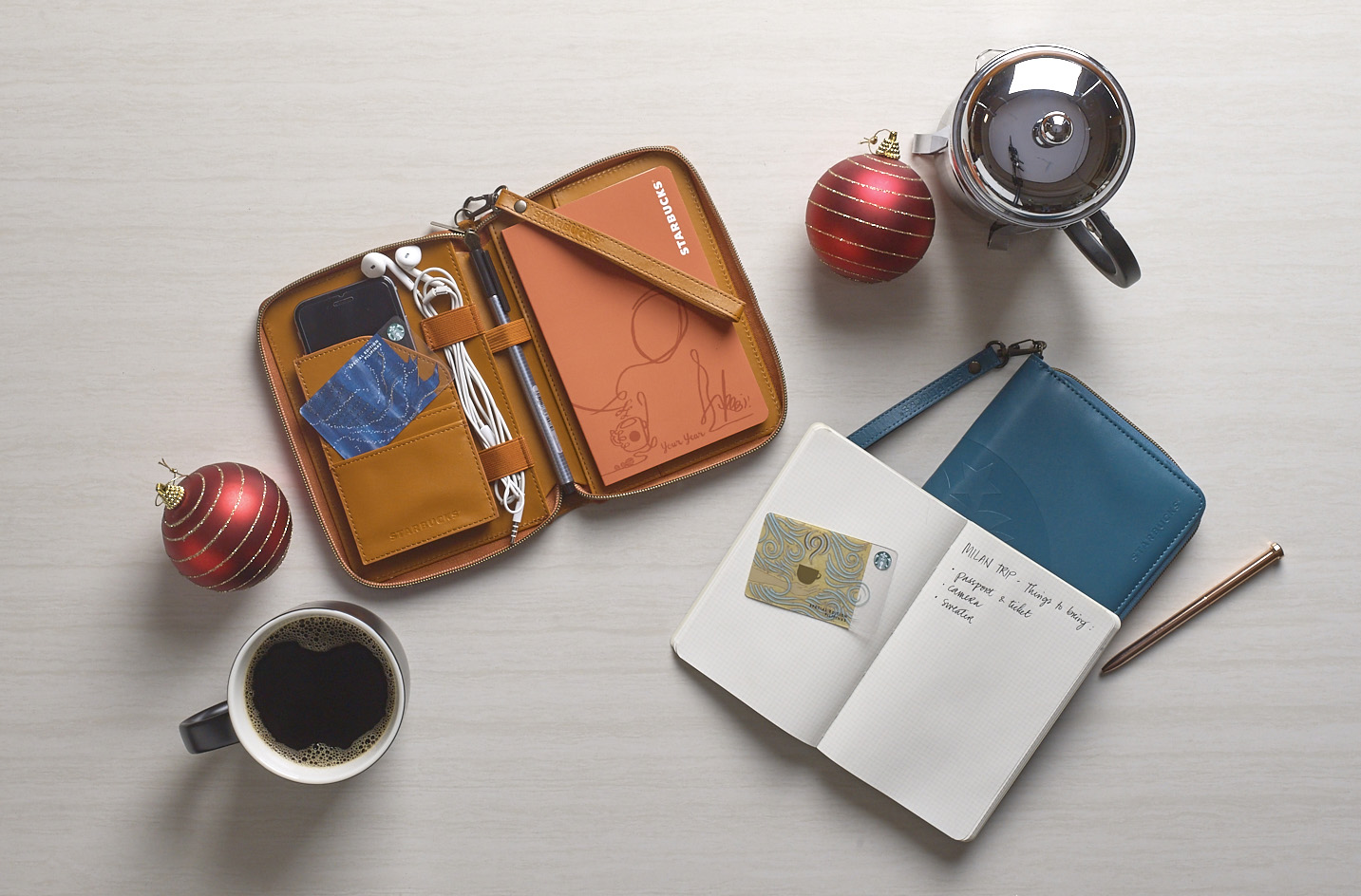 Starbucks 2019 Travel Organizer