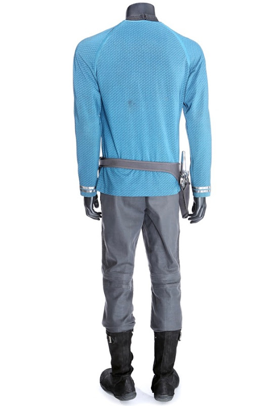 Spock Starfleet costume back Star Trek Into Darkness