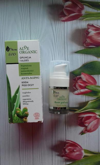 Ava eco aloe organic anti aging krem pod oczy
