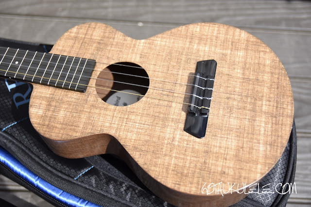 Blackbird Farallon Tenor Ukulele body