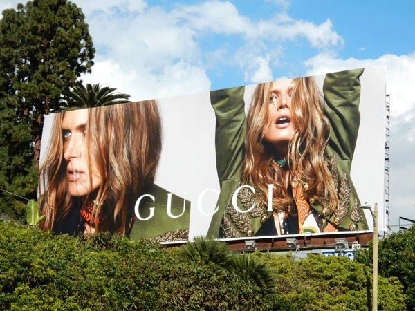 Gucci Spring 2015 billboard