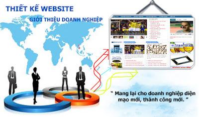 Thiết kế website doanh nghiệp mang lại nhiều niềm tin cho khách hàng