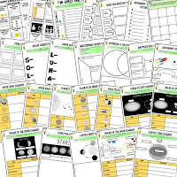 Solar System, Planets, Astronomy, Technology Activities, Earth Science Activities, Choice Boards, Digital Graphic Organizers