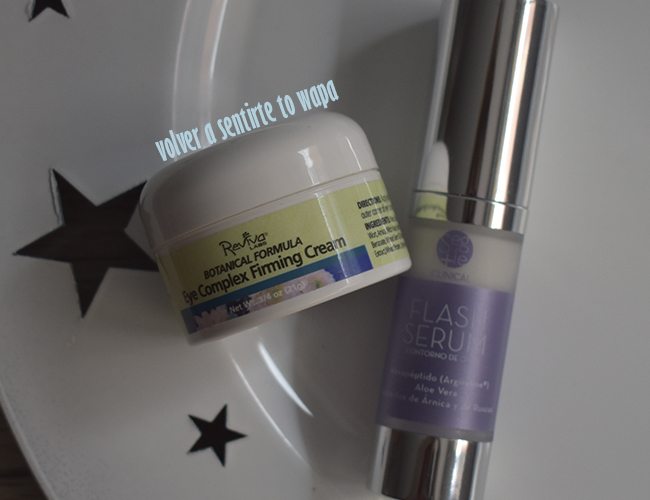 Rutina facial: cremas para el contorno de ojos de Reviva Labs y Segle Clinical de Cosmeceuticals