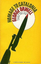 Homage to Catlonia by George Orwell book cover