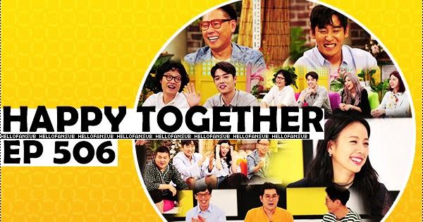 Hellofansub Happy Together حصري حلقة Ep506 على مدونة Hf