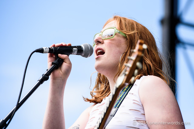 Maddee on the Fort York Stage at Field Trip 2018 on June 2, 2018 Photo by John Ordean at One In Ten Words oneintenwords.com toronto indie alternative live music blog concert photography pictures photos