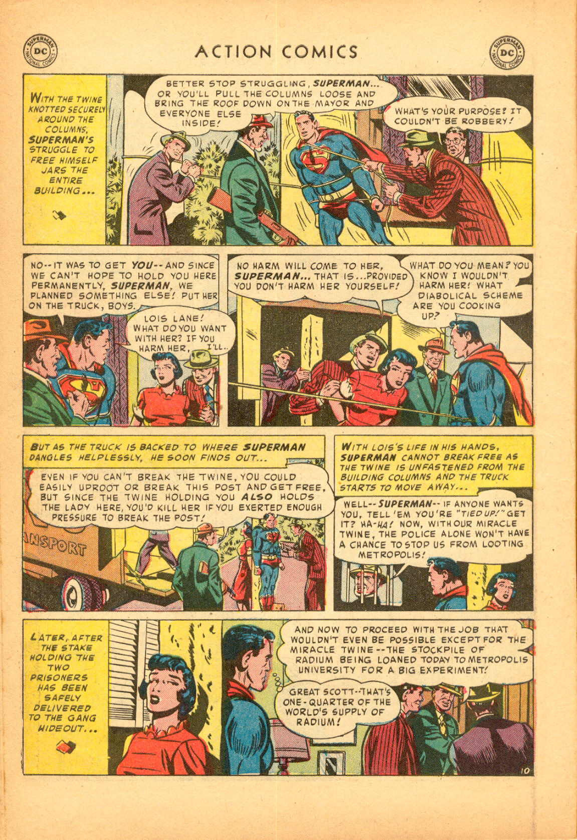 Read online Action Comics (1938) comic -  Issue #174 - 12