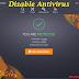 2 Cara mudah nak Disable Antivirus - AVAST