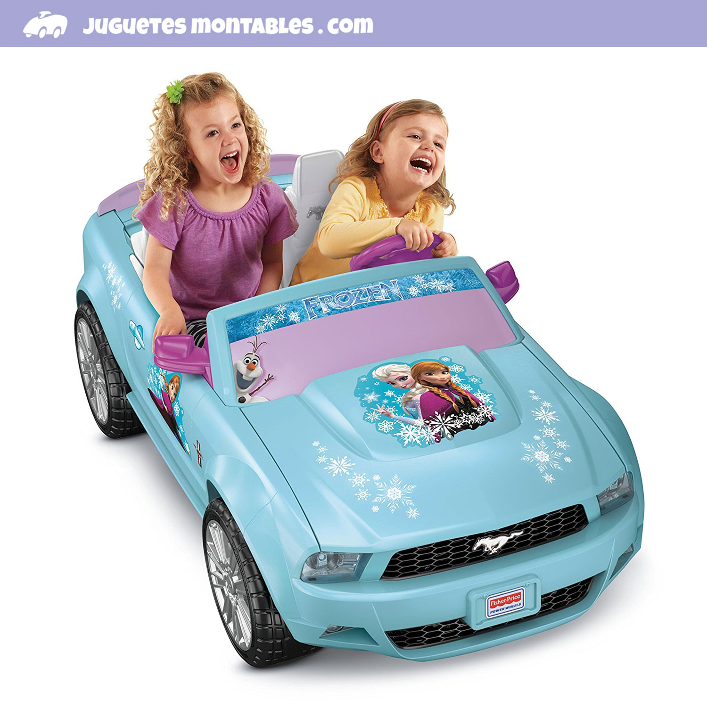 Juguetes Montables Para Ninos Estados Unidos Frozen Carro