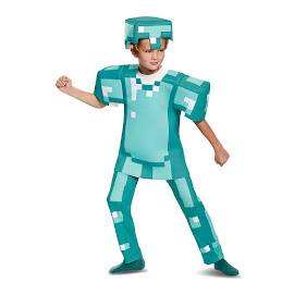 Minecraft Disguise Armor Deluxe Costume Gadget