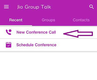 jio se conference call kaise kare