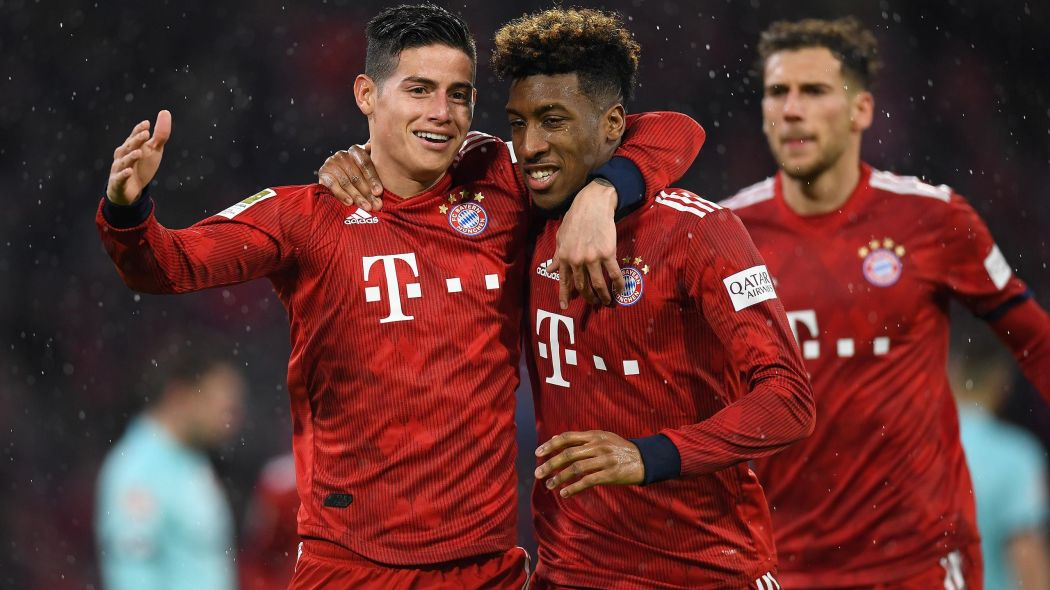 Bayern Munich back on top of Bundesliga table after 6-0 rout