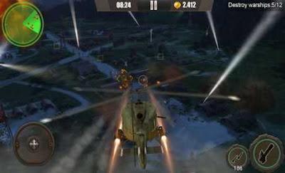 تحميل لعبة الطائرات الحربية GUNSHIP BATTLE نسخة مهكرة اخر اصدار 2020