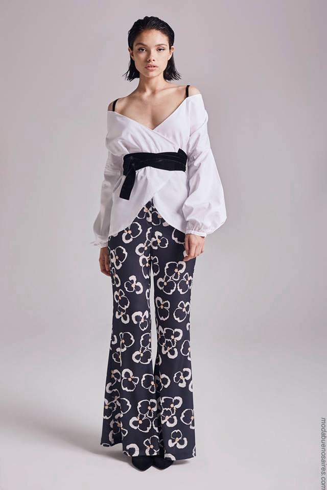 Moda otoño invierno 2019 ropa de mujer elegante y femenina.