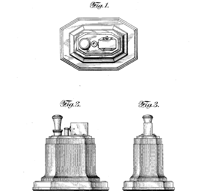 Table lighters collectors' guide: Patent: Ronson Touch-Tip