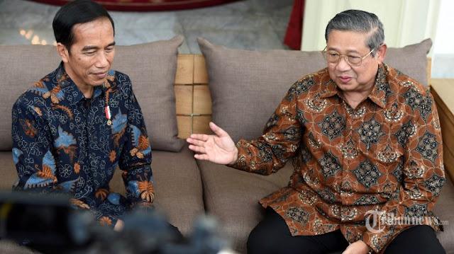 Dituduh Gerakkan Massa Untuk Bom Istana, SBY Laporkan Orang Ini Ke Jokowi