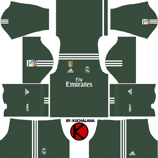 1f253185b Real Madrid Kits 2017 2018 - Dream League Soccer - Kuchalana