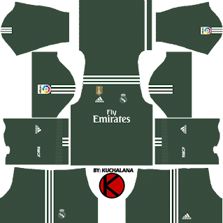 Real Madrid Kits 2017/2018 - Dream League Soccer