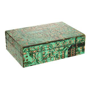 caja con placas base