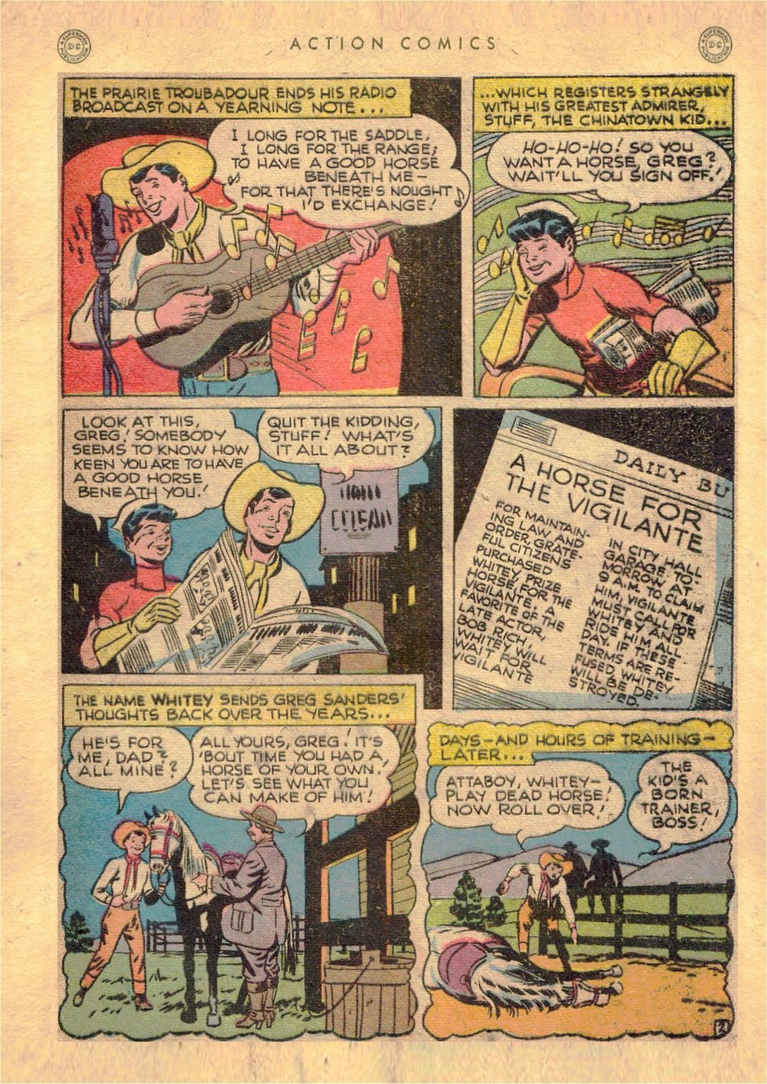 Read online Action Comics (1938) comic -  Issue #107 - 36