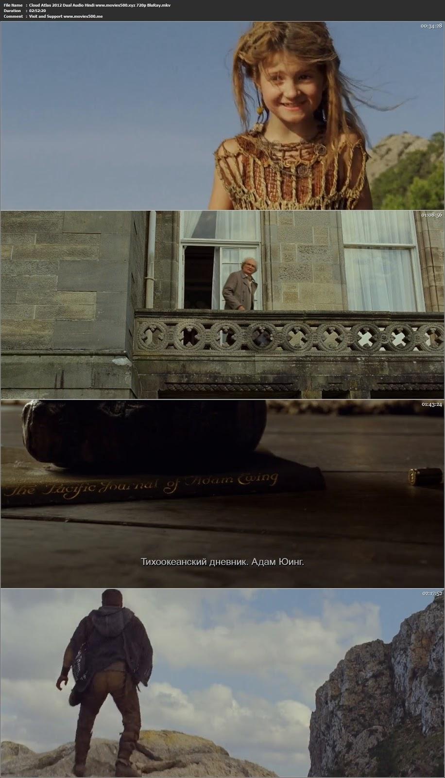 Cloud Atlas 2012 Dual Audio Hindi Full Movie BluRay 720p at movies500.info