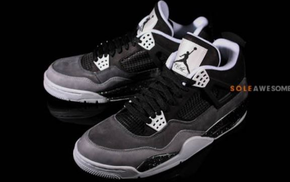 cheap for discount 4992f d4209 2013 Air Jordan 4 Retro Stealth Oreo Fear Pack Sneaker (New Images)