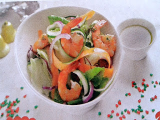 Gambar Resep Salad Udang Sayuran