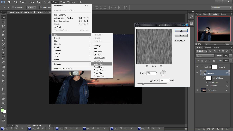 Cara Membuat Efek Hujan Dengan Photoshop   Fojo Design ...
