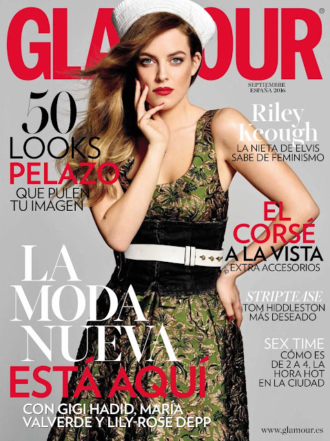 Actress, Model, @ Riley Keough - Glamour Spain, September 2016