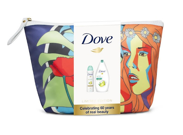 dove 60 years cosmetic bag