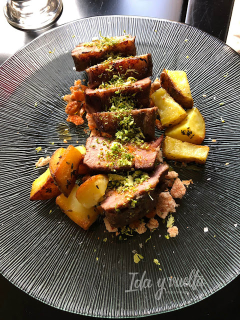 Comer en Antequera Tasca Frasquita presa