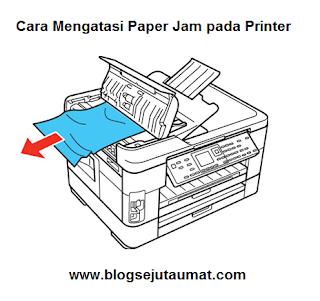 Cara Ampuh Mengatasi Paper Jam Pada Setiap Printer