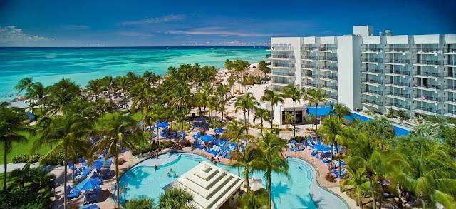 Algunos hoteles que encontraremos en Aruba