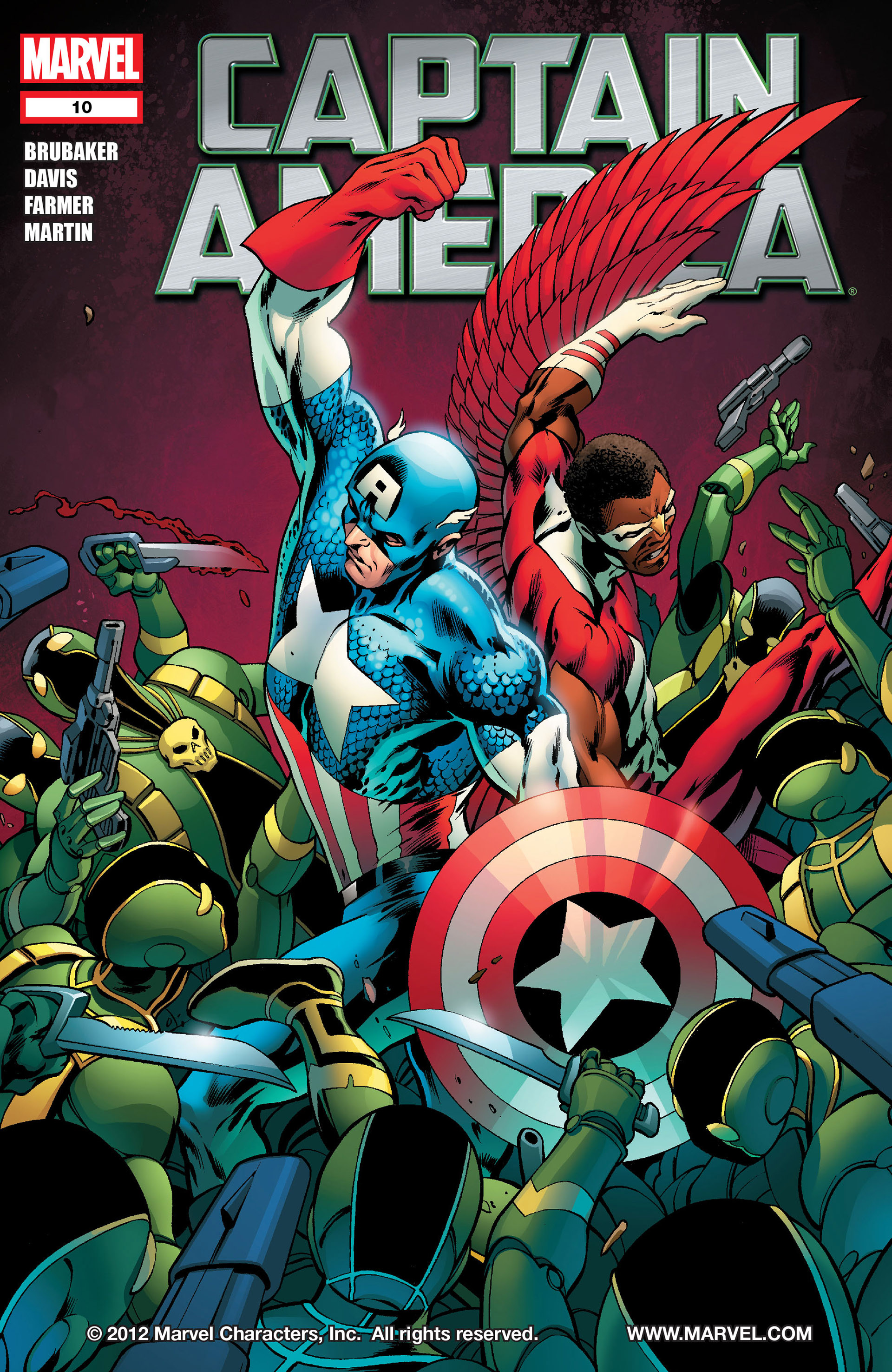 Captain America (2011) 10 Page 1