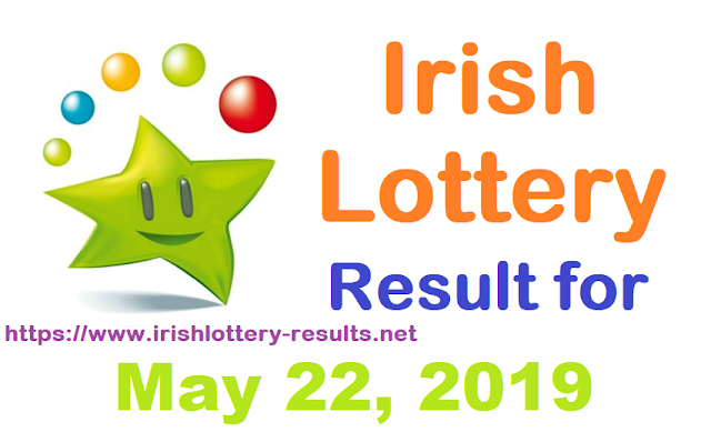 Irish Lottery Results for Wednesday, May 22, 2019
