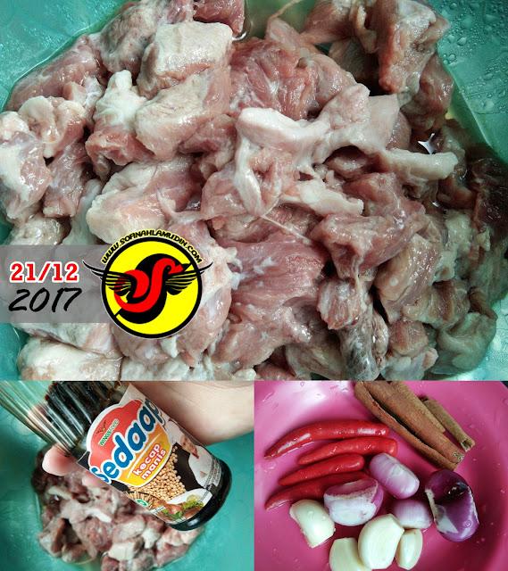 Resipi Daging Masak Hitam Ringkas Tapi Sedap - Sofinah Lamudin