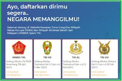 Lowongan Kerja Calon Perwira PSDP Penerbangan TNI 2021