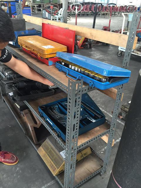 Peralatan Kilang Motorsikal Suzuki Di Prai Mula Di Lelong