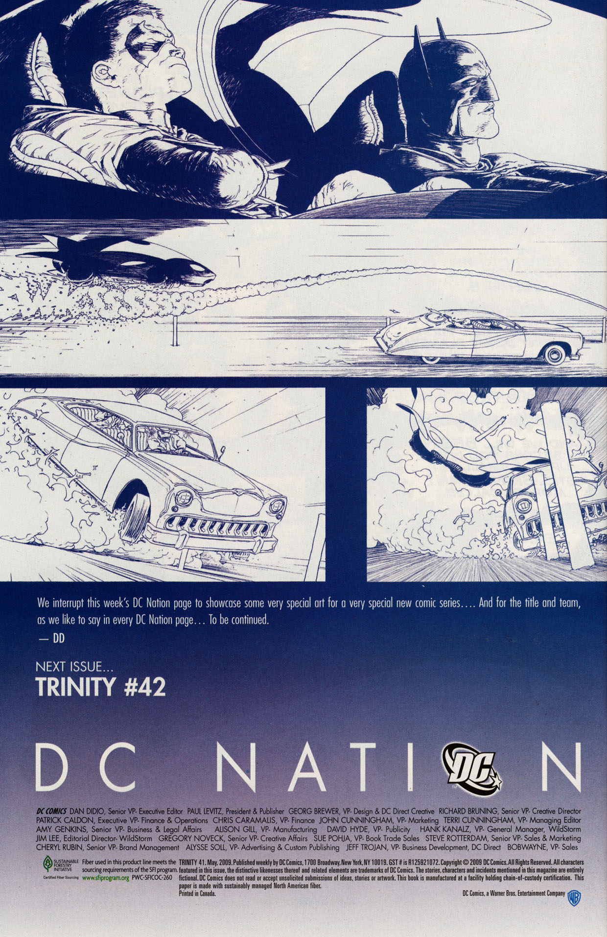 Read online Trinity (2008) comic -  Issue #41 - 29