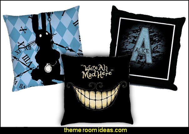alice in wonderland throw pillows-alice in wonderland bedroom decor-alice in wonderland pillow